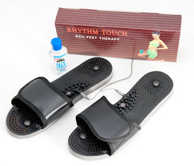 Accu-Therapy slippers for the Rhythm Touch and other EMS devices.