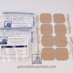 Set of 8 EMS and TENS Electrodes