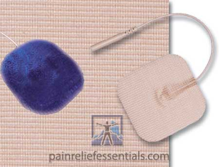 Hypoallergenic electrodes for TENS and EMS