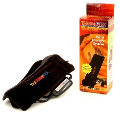 left Thermotex wrist infrared heating pad