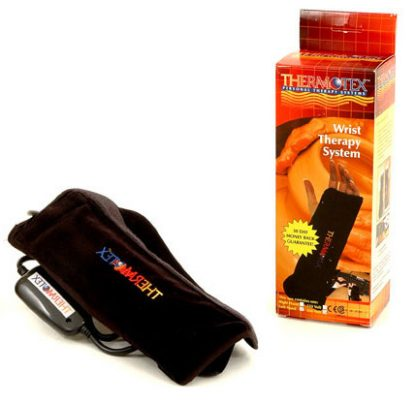 Thermotex wrist infrared heating pad