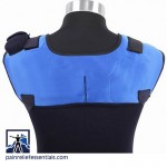 cordless infrared heating dual shoulder wrap