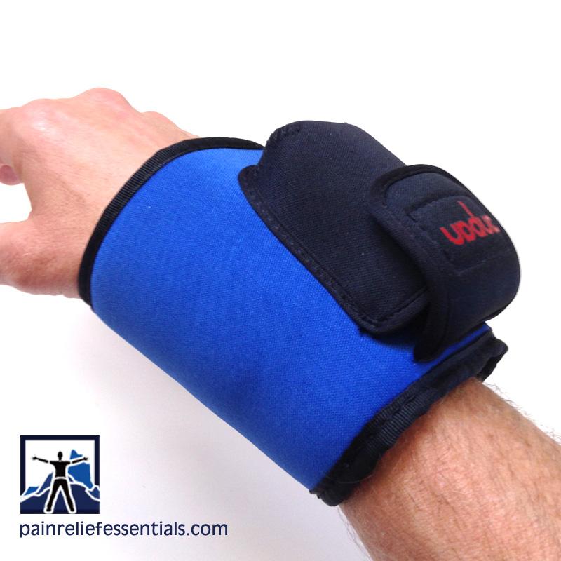 cordless infrared heating wrist wrap