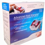 New FDA Cleared foot stimulator / foot massager - Advanced Foot Energizer using TENS and EMS
