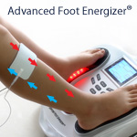 Using the Advanced Foot Energizer TENS and EMS to increase circulation