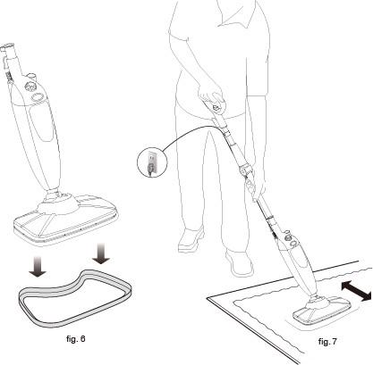 carpet glider transforms your steam mop
