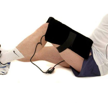 Using Thermotex Platinum FIR Heat Pad on Thigh / Leg