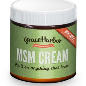 Grace Harbor MSM Therapeutic Cream with essential oils