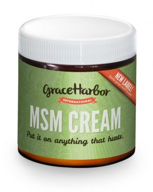 Grace Harbor MSM Therapeutic Cream with essential oils