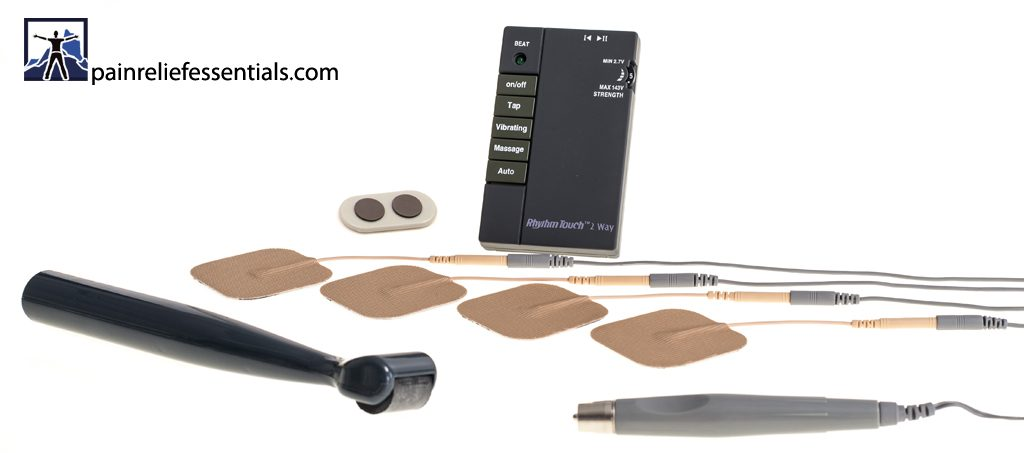 Rhythm Touch Electrical Stimulator - Complete Rhythm Touch Ultra Kit from Pain Relief Essentials
