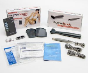 Rhythm Touch 2-Way Complete Kit electrical muscle massager & TENS from Pain Relief Essentials